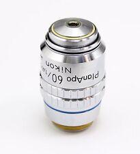 Nikon PlanApo CFN 60x / 1.40 160 / 0.17  Microscope Objective Plan Apo