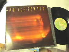 Prince For You 1978 LP orig soul synth funk debut 1st vinyl bsk3150 WOW first !!