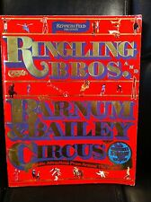 ringling brothers circus programs - (3) - 1972 - 1984 - 1986