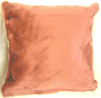 Luxury Rose PIink Faux Fur Scatter Cushion Covers, Cushions,Fur Both Sides
