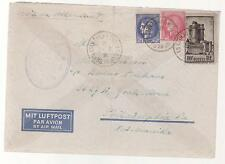 1941 France Concentration Internment Camp de Gurs prisoner Cover USA L Haberer