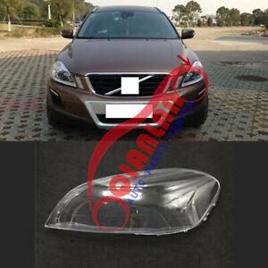 For Volvo XC60 2010-2013 Left Side Headlight Lens Cover + Sealant Glue