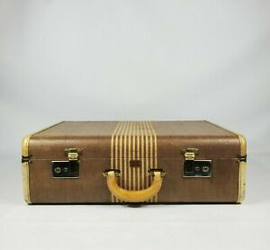 Seward Manufacturing Company Vacationer Royal Luggage Vintage Suitcase