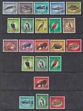 Guyana 1968-71 Used FU Fishes Animals Birds Eagle Armadillo Patua Rock both wmks