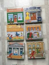 SESAME STREET NEIGHBORHOOD BOARD BOOKS *LOT OF 13* READERS DIGEST SERIES