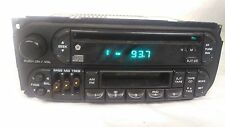 Dodge Chrysler Jeep OEM dash radio CD cassette RAZ 98-02 Caravan Neon Cherokee