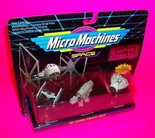 Star Wars EMPIRE STRIKES BACK Micro Machines Tie Starfighter Snowspeeder At-At