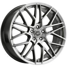"Platinum 459G Retribution 20x8.5 5x4.5"" +40mm Graphite Wheel Rim 20"" Inch"