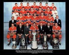 1959 MONTREAL CANADIENS TEAM PHOTO 8X10