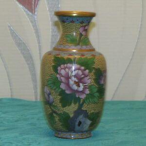 Vase en cloisonne chine