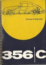 PORSCHE 356 C Betriebsanleitung 1963 Driver´s Manual Handbook  BA