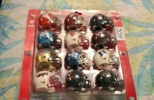 "2009 ACC  Conference NCAA Riddell Pocket Size Pro 2"" Replica Mini Helmet Set"