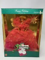 Happy Holidays Barbie 1990 Special Edition - Rare Collectors Doll