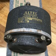 1 Altec Lansing 802B Alnico Driver / Fits 808 H 811 H825 A7-800 Iconic Saloon
