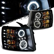 FOREST RIVER FR3 2013 2014 BLACK LED HEAD LIGHTS LAMPS HEADLIGHTS RV - SET