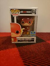 SHELDON COOPER as FLASH The Big Bang Theory Funko PoP 2019 Summer Convention LE
