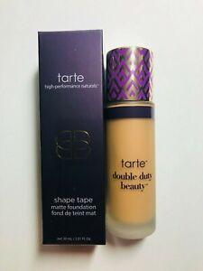 TARTE SHAPE TAPE MATTE FOUNDATION  - MEDIUM GOLDEN (Full Size 1.01oz/NIB)