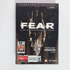 PC Game - FEAR Directors Edition Big Box Windows PC  + Free Postage F.E.A.R