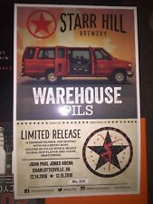 Dave Matthews Band Poster Charlottesville December 2018 Warehouse Pils #'d Dmb