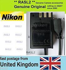 Genuine Original NIKON EP-5 DC Coupler for EH-5 EH-5A D5000 D3000 D60 D40 D40x