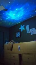 Can You Imagine Laser Stars Light Show Projector Lamp - Night Moon Blue Cloud