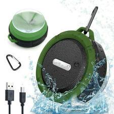 Mini Car Speaker Waterproof Volume Control Stereo Speaker TF/FM for Phone Radio