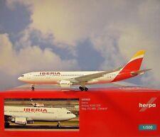 Herpa Wings 1:500 Airbus A330-200  Iberia  EC-MIL 529303 Modellairport500