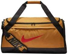 Nike Brasilia Medium Golden Wheat Training Duffle Gym Bag BA5977-790