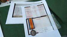 1914 - 1918 BRITISH WAR MEDAL TO 45359 PTE A T FLITTON DURHAM LIGHT INFANTRY