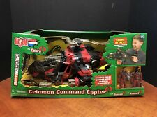 GI Joe Vs Cobra Crimson Command Copter Dela1686