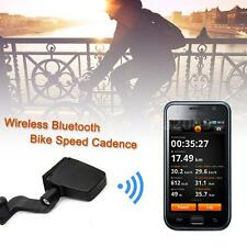 Wireless Bluetooth ANT Tracker Bike Speed Cadence Combo Sensor Speedomet Y8K6