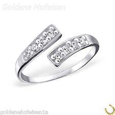 ZEHENRING mit Kristalle 925 Echt Silber Zehring Top Geschenkidee / 322