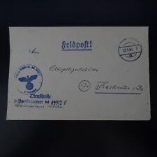 ALLEMAGNE LETTRE FELDPOST BRIEF 29.09.1944 -> KARLSRUHE
