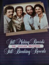 THE STATLER BROTHERS- Still Breaking Records 1982 Original Promo Poster Ad