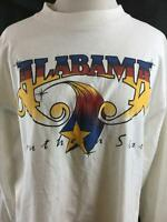 Vintage Alabama Concert 1989 Southern Star Tour Long Sleeves Cotton Made In USA