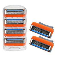 4Pcs Shaving Razor Cartridge Blades Sets For Gillette Fusion ProGlide Replace