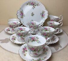 Saucer Moss Rose Royal Albert Porcelain & China