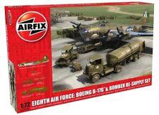 Airfix 1:72 Eighth Air Force B-17G/Bomber Re-Supply Set 12010
