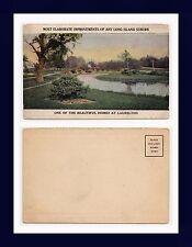 NEW YORK QUEENS LONG ISLAND LAURELTON HOMES UNDIVIDED BACK POSTCARD CIRCA 1905