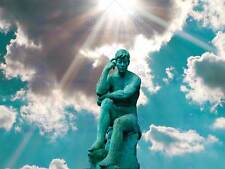 TURQUOISE STATUE PHOTO ART PRINT POSTER PICTURE BMP1262A