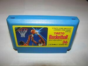 Taito Basketball Famicom NES Japan import US Seller