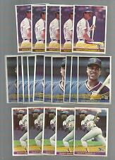 1984 DONRUSS #226 DUSTY BAKER  (LOT OF 5  MINT)  FREE COMBINED S&H