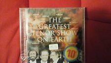 COMPILATION - THE GREATEST TENOR SHOW ON EARTH. DOPPIO CD NUOVO SIGILLATO