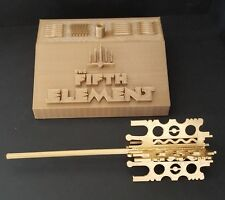 The Fifth Element Mondoshawan Tomb Key with custom stand (removable key)