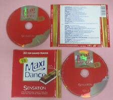 CD Compilation Maxi Dance Sensation 18 SNAP! LA BOUCHE HERBIE no lp mc dvd (C33)