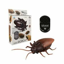 Remote Control Mock Fake Cockroach RC Toy Prank Insects Joke Scary Trick Bugs UK