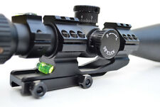 "Cantilever Rifle Scope Mount For 30 & 25mm 1"" Rings BUBBLE LEVEL Picatinny Base"