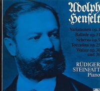 Adolph von Henselt, Rüdiger Steinfatt – Variationen Op. 1, Ballade Op. 31, Sche