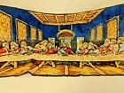The Last Supper Tapestry Vintage Mid Century Modern