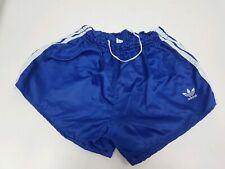 Pantaloncino adidas nylon sprinter Shiny Shorts glanz pants 196 vintage 70' D6